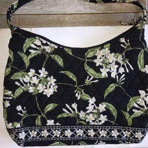 Vera Bradley Black Purse w Floral Print